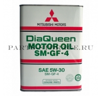 Масло моторное Mitsubishi Diaqueen 5W30 SM/GF 4L 3601610