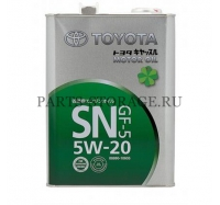 Моторное масло Toyota Motor Oil 5W-20 SN 0888010605