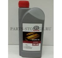 Масло моторное SAE 5W-40 1L Toyota 0888080836