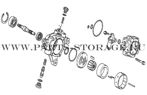 Ремонт насоса гидроусилителя руля хонда своими руками 49